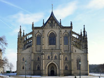 St.Barbara Church in Kutna Hora, Royalty Free Stock Photo