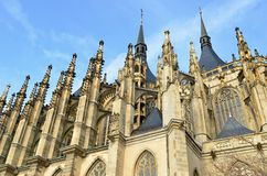 St.Barbara church in Kutna Hora, Stock Images