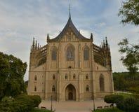 St.Barbara Church. In Kutna Hora, Czech republic royalty free stock photography