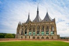 St Barbara kathedraal Royalty-vrije Stock Afbeeldingen