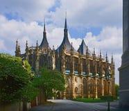 St Barbara Kutna Hora royalty-vrije stock fotografie