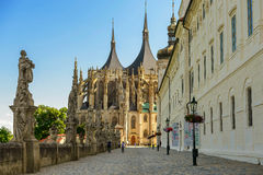St Barbara's Cathedral, Kutna Hora Royalty Free Stock Photo
