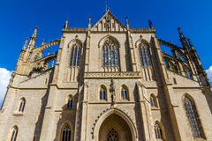 St.Barbara's Church (Cathedral) in Kutna Hora Royalty Free Stock Images