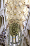 St. Barbara's Church - decorative ceiling inside Royalty Free Stock Photography