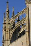 St. Barbaras Church - decorative towers - detail Royalty Free Stock Images