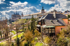 St Barbara's Church And Jesuit College-Kutna Hora Royalty Free Stock Photo