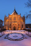 St. Barbara`s Church in Kutna Hora Royalty Free Stock Photo