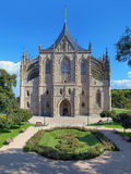 St. Barbara's Church in Kutna Hora, Czech Republic Royalty Free Stock Photography