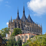 St. Barbara's Church in Kutna Hora, Czech Republic Stock Photography