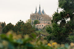 St. Barbara's church in Kutna Hora, Czech Republic Royalty Free Stock Images