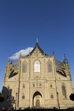 St. Barbaras Church - front detail Royalty Free Stock Photo
