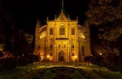 st Barbora大教堂  免版税库存照片