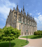 St. Barbora cathedral in Kutna Hora, Czech republic Royalty Free Stock Photos
