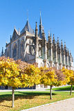 St. Barbora cathedral, national cultural landmark, Kutna Hora, Czech republic, Europe Stock Images