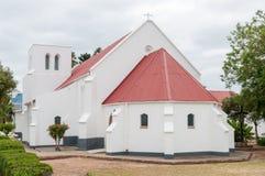 St Barnabas英国国教的教堂,海得尔堡,西开普省,南Afr 免版税图库摄影