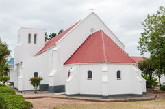 St Barnabas Anglican Church, Heidelberg, la Provincia del Capo Occidentale, Afr del sud fotografia stock libera da diritti