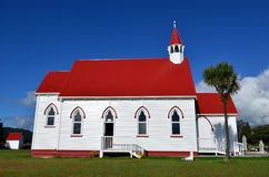 St. Barnabas Church. St Barnabas Anglican Church, situated in Peria Valley in Northland, New Zealand stock photography