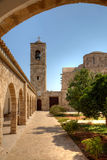 St.Barnabas Church in Northern Cyprus. The monastery of St Barnabas is a reminder of the important role Cyprus played in the history of Christianity in the Royalty Free Stock Photography