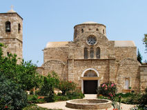 St.Barnabas Church in Northern Cyprus. St.Barnabas Church is in Turkish Republic of Northern Cyprus. There is an interesting collection of painting about stock photo