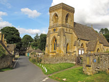 St. Barnabas Church, Snowshill, Cotswolds Royalty Free Stock Photos