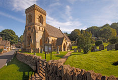 St Barnabas Church Snowshill Stock Images
