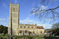St Barnabas Church. Queen Camel, Somerset Royalty Free Stock Photography