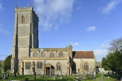 St Barnabas Church. Queen Camel, Somerset Stock Image