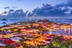 St Baronets in de Caraïben royalty-vrije stock foto