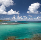 St. Barth Island, Caribbean sea Royalty Free Stock Photos