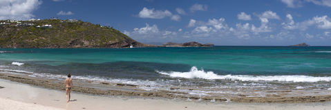 St. Barth Island, Caribbean sea. St. Barth Island, French West Indies, Caribbean sea royalty free stock image