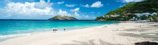 St Barth Island, Caribbean sea Royalty Free Stock Photos