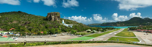 St Barth Island, mar dei Caraibi Fotografia Stock