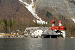 Free St. Bartholomä With Pilgrimage Church Stock Images - 9316384