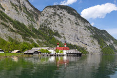 Free St. Bartholoma Church In Konigsee Royalty Free Stock Photography - 54723547