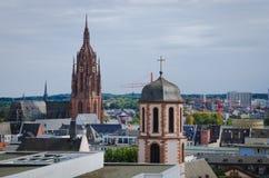 St Bartholomaeus Dom cathedral in Frankfurt am Main, Germany Stock Photography