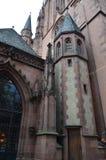 St Bartholomaus Frankfurter Dom Katedralni w Frankfurt magistrala, Niemcy - Am - zdjęcie stock