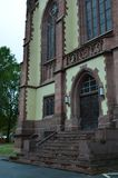 St Bartholomaus Frankfurter Dom Katedralni w Frankfurt magistrala, Niemcy - Am - obrazy stock