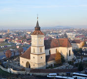 St Bartholomew Church Brasov Royalty Free Stock Photos
