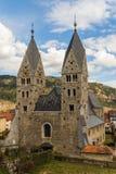 St Bartholomew Church en Friesach Imágenes de archivo libres de regalías