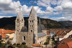 St. Bartholomew Church in Friesach Stock Photography