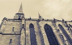 St. Bartholomew church in Pilsen Stock Photos
