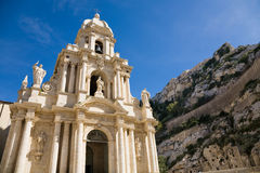 St. Bartholomew church, Scicli, Sicily Stock Photo