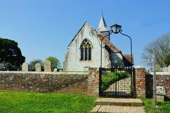 St Bartholomew ko?ci??, Chalvington, East Sussex UK obraz royalty free