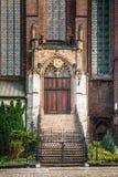 St. Bartholomew's Church of the Holy Cross in Wrocław Stock Photos