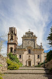 St. Bartholomew's Cathedral in Lipari, Italy Royalty Free Stock Photography