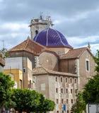 St Bartholomew& x27; s Kościelny Benicarlo, Castellon prowincja, Hiszpania Zdjęcia Stock