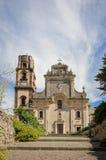 St Bartholomew y x27; catedral de s en Lipari, Italia Fotografía de archivo libre de regalías