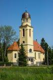 St Bartholomews教会-利贝雷茨 图库摄影