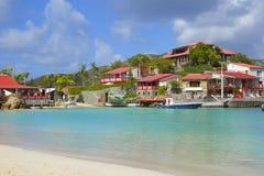 St Barths,加勒比 免版税库存图片
