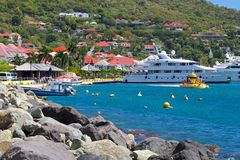 St Barths, карибское Стоковые Изображения RF